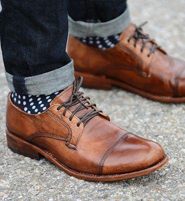 Giày lưới oxford có dây